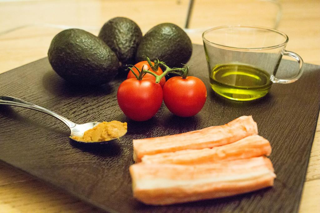 Andalumami Salad Recipe Ingredients