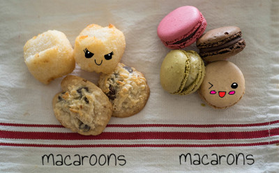 Macarons and Macaroons: Yes, It Matters.