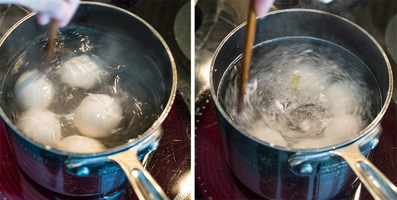Hard boiling Eggs