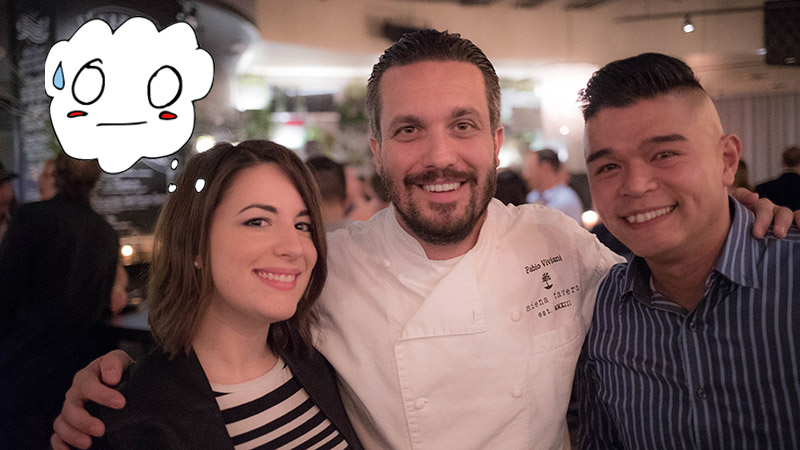 What Happens When You Meet a Celebrity Chef