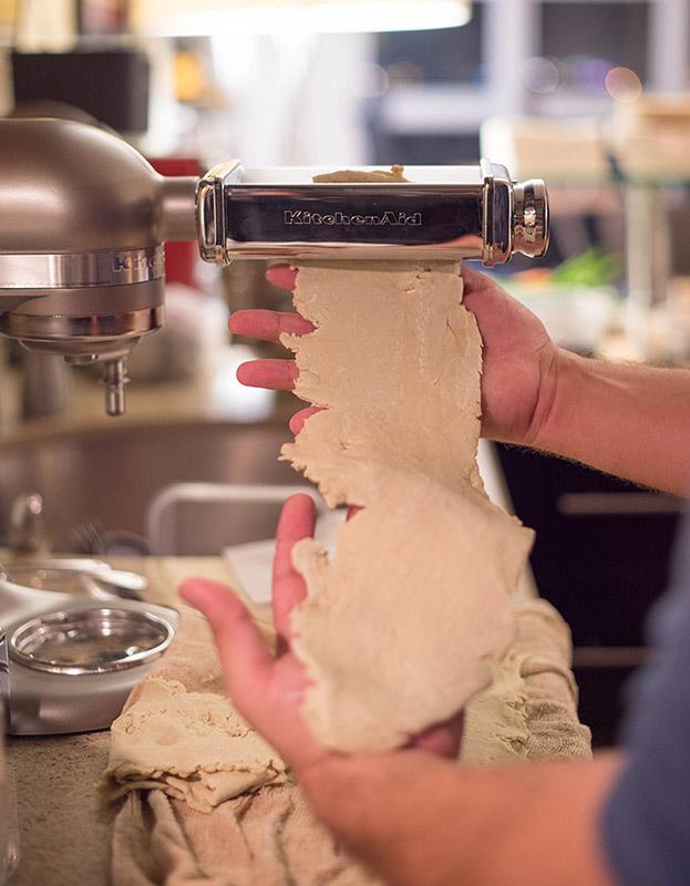 Ramen Noodle KitchenAid Roller